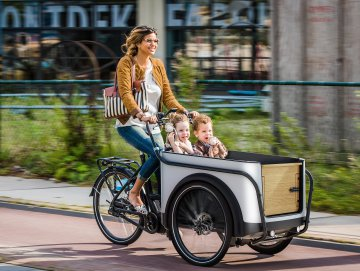 Urban Wheelz Cargo presents new tricycle at Eurobike